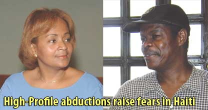 High-Profile abductions raise fears in Haiti - October 28, 2007