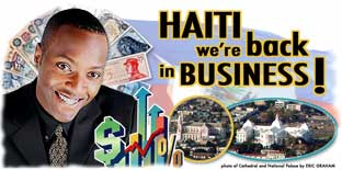 Ad for haitian American Chamber of Commerce