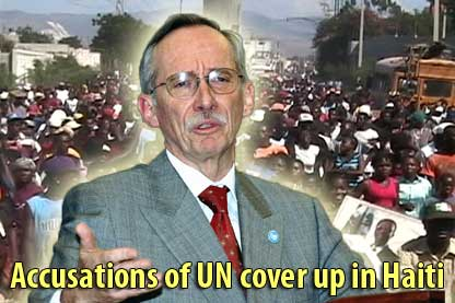 Accusations of UN cover-up in Haiti - February 2, 2007