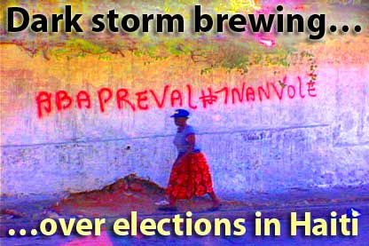 Dark storm brewing over elections in Haiti - February 6, 2006
