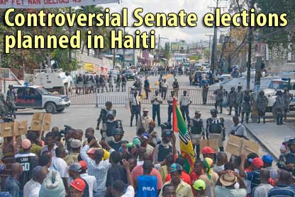 Controversial Senate elections planned in Haiti - April 6, 2009