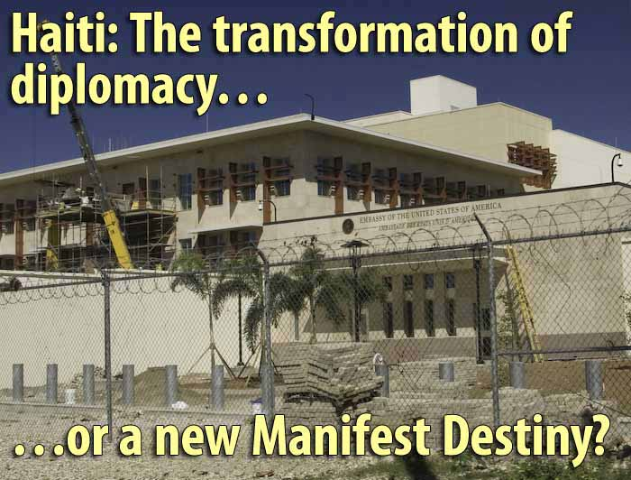 The New US Embassy in Haiti is nearing completion