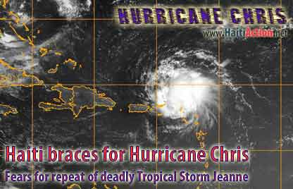 Haiti Braces for Hurricane Chris while fears for repeat of deadly Tropical Storm Jeanne persist - August 2, 2006
