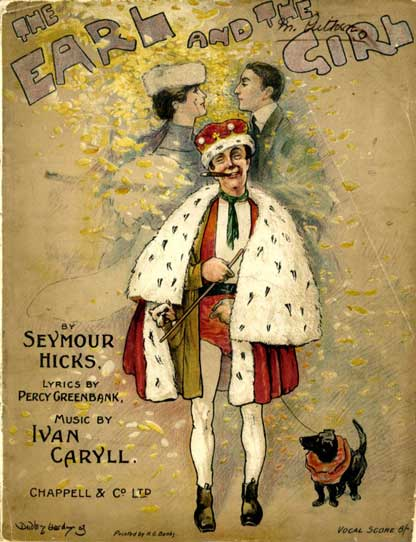 The Earl and the Girl cover from 1910